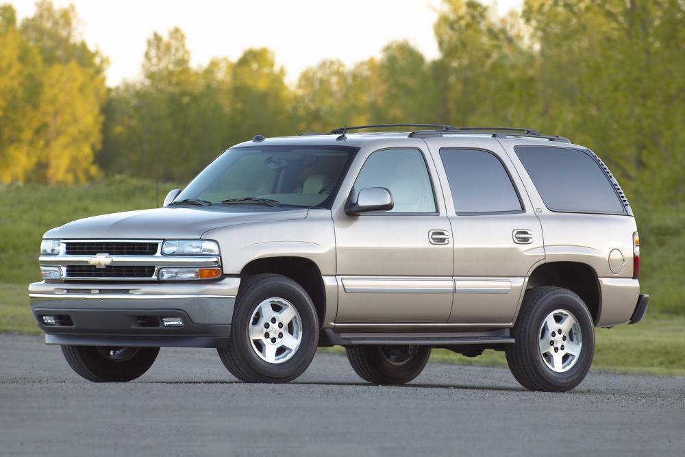 Chevrolet Tahoe 2 поколение GMT800