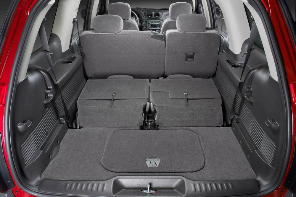 Chevrolet TrailBlazer 1 поколение (2001-2009) EXT внедорожник интерьер