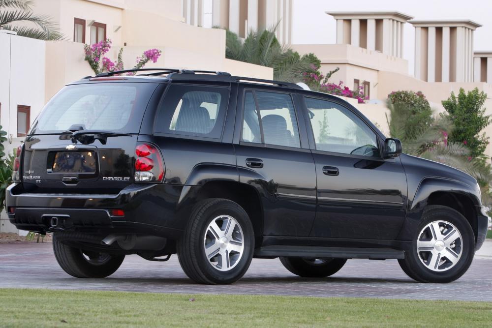 Chevrolet TrailBlazer 1 поколение рестайлинг (2005-2009) Внедорожник