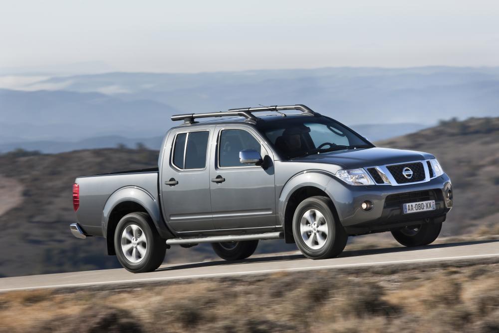 Nissan Navara D40 [рестайлинг] (2010-2015) Пикап Двойная кабина