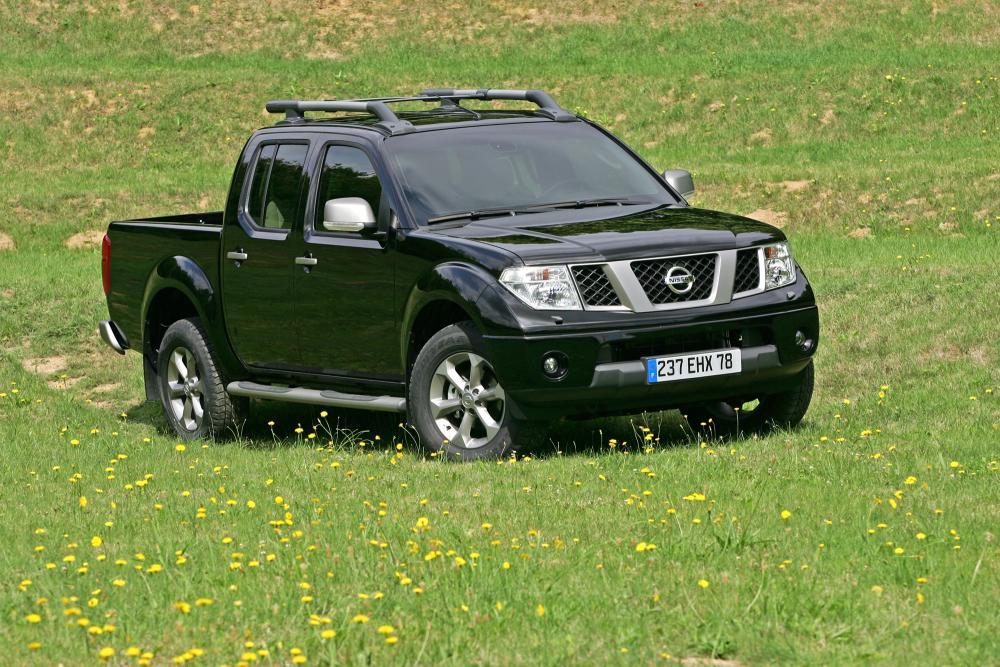 Nissan Navara D40 (2005-2010) Пикап Двойная кабина