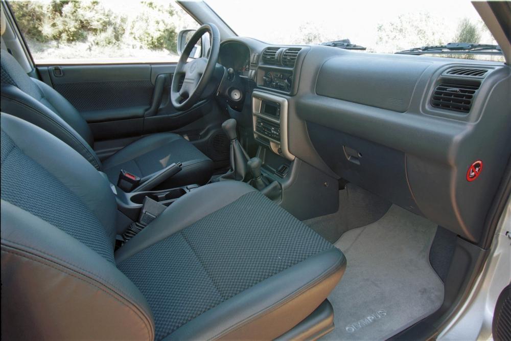 Opel Frontera 2 поколение B [рестайлинг] (2001-2004) Внедорожник 3-дв. интерьер