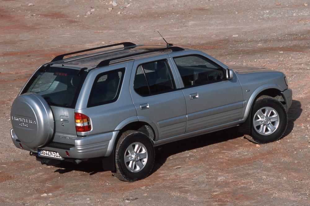 Opel Frontera B [рестайлинг] (2001-2004) Внедорожник 5-дв.