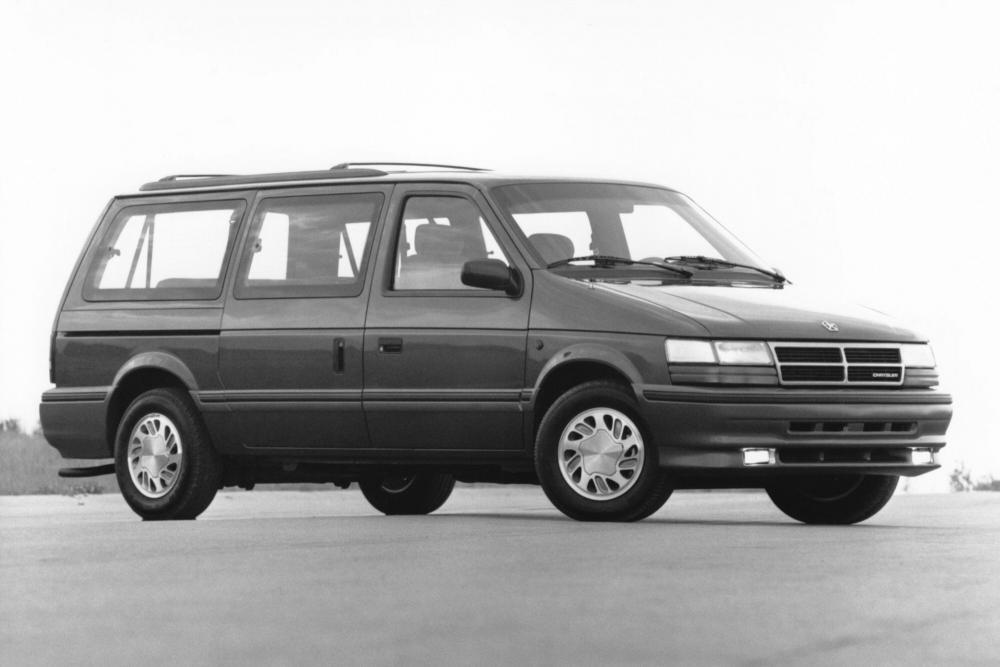 Chrysler Voyager 2 поколение (1990-1995) Grand минивэн 4-дв.