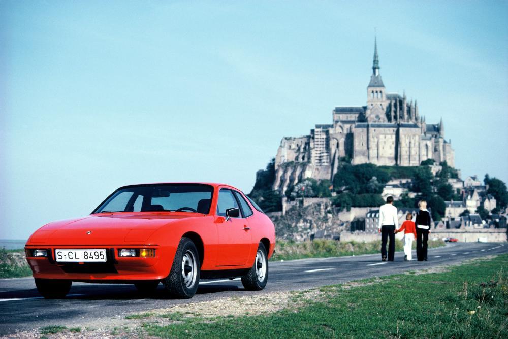 Porsche 924 1 поколение (1976-1988) Купе
