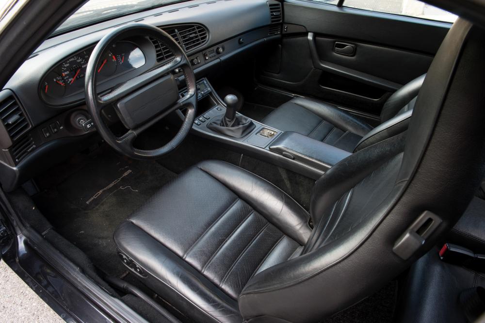 Porsche 944 1 поколение (1989-1991) Кабриолет интерьер