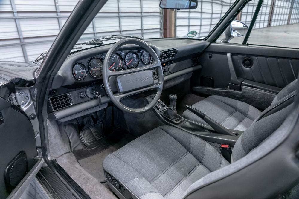 Porsche 959 1 поколение (1986-1991) Купе интерьер