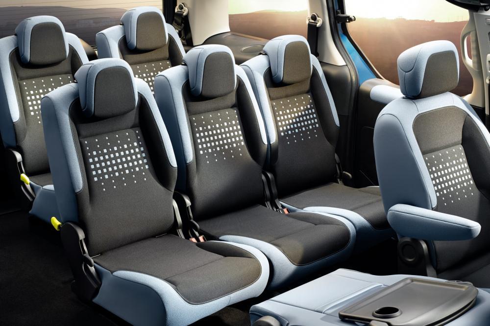 Citroen Berlingo 2 поколение рестайлинг Multispace минивэн 4-дв. интерьер