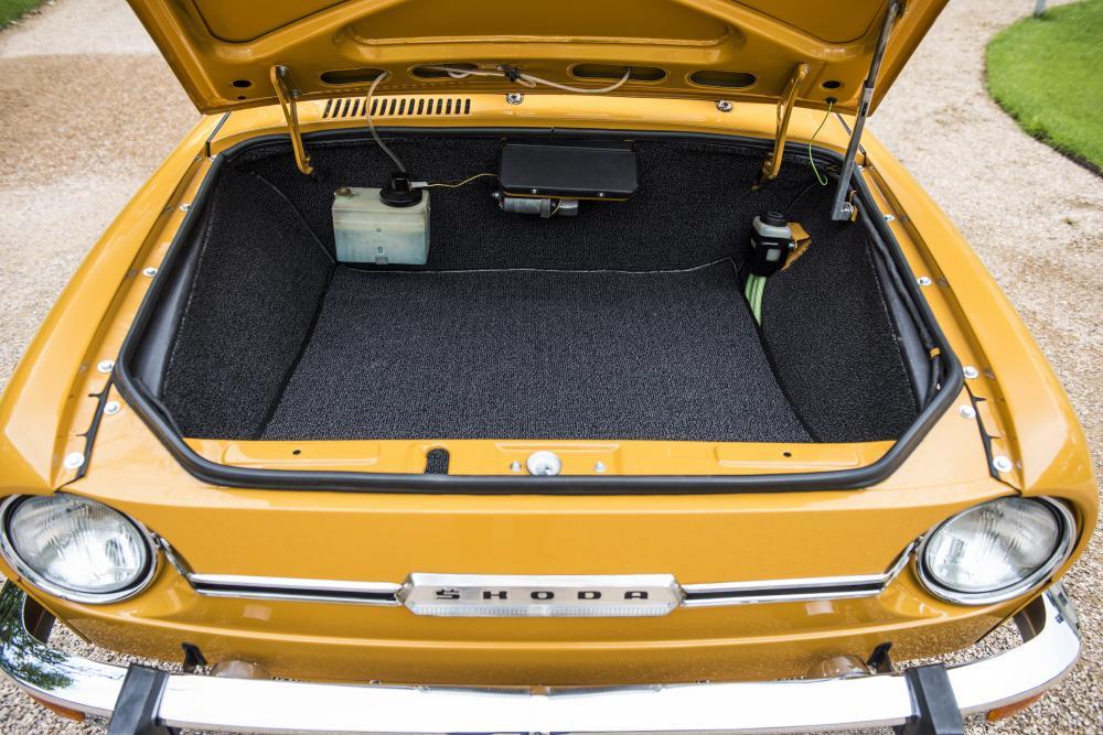 Skoda 110 R 1 поколение (1970-1980) Купе багажник