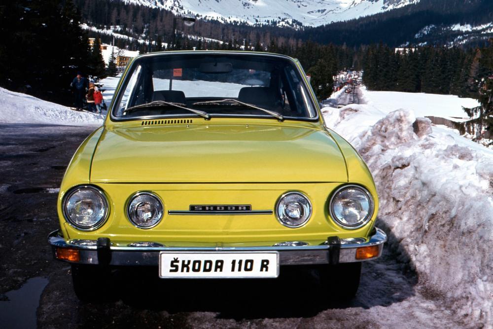 Skoda 110 R 1 поколение (1970-1980) Купе