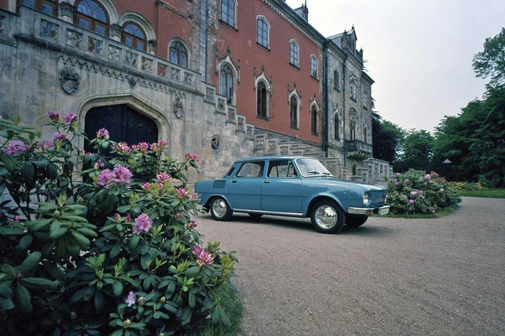 Skoda 100 1 поколение (1969-1984) Седан
