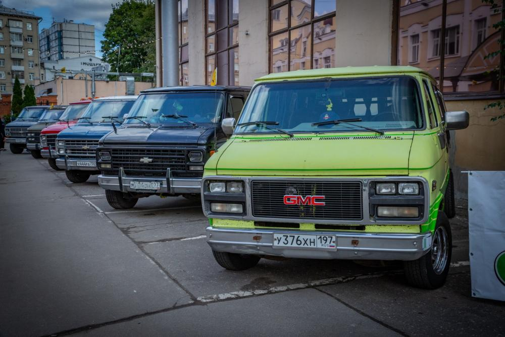 выставка американских авто