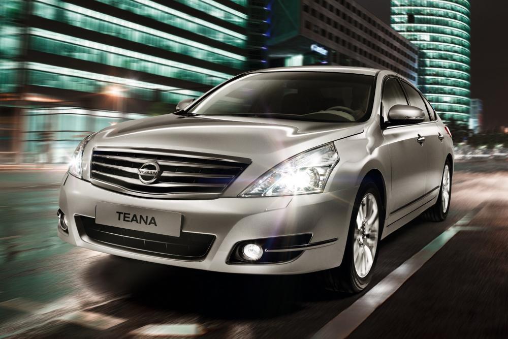 Nissan Teana 2 поколение J32 рестайлинг