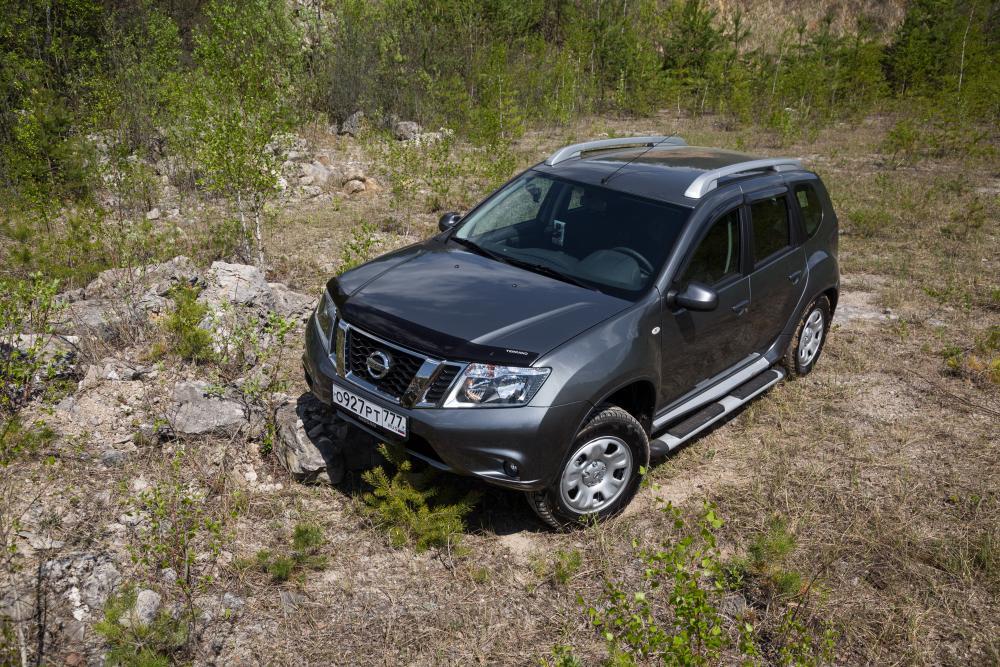 Nissan Terrano 3 поколение рестайлинг