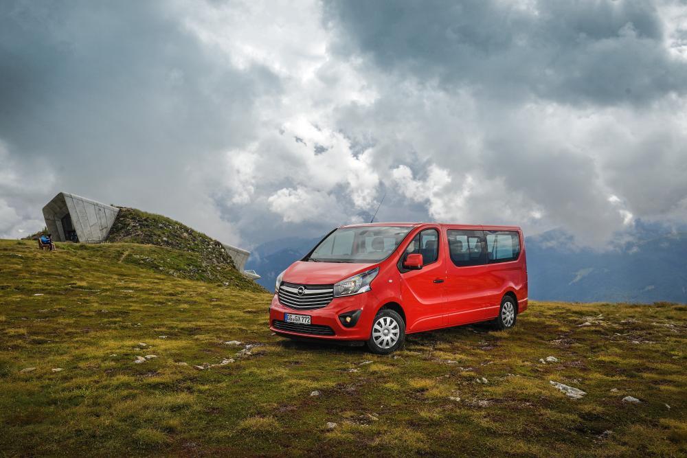 Opel Vivaro B (2014-2019) Минивэн Long