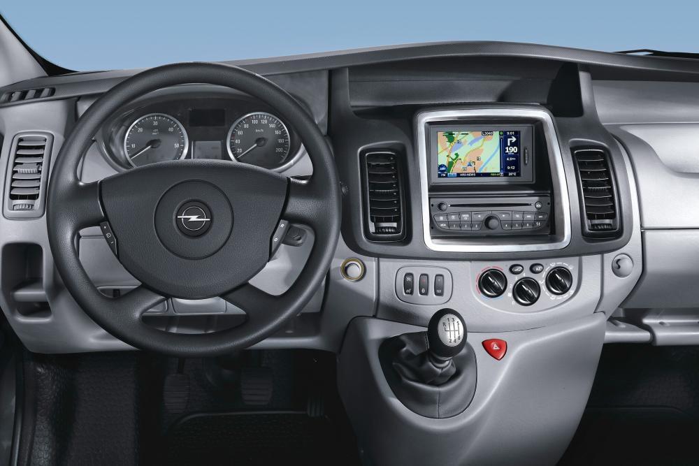 Opel Vivaro 1 поколение A [рестайлинг] (2006-2014) Фургон 4-дв. интерьер