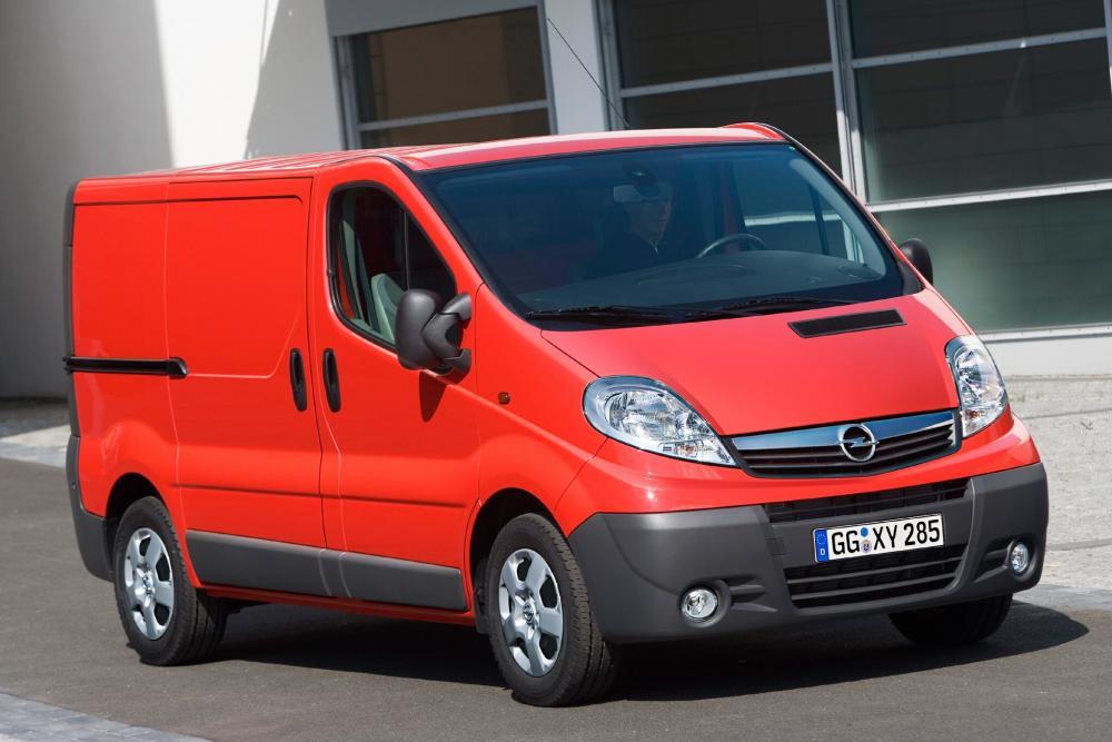 Opel Vivaro 1 поколение A [рестайлинг] (2006-2014) Фургон 4-дв.