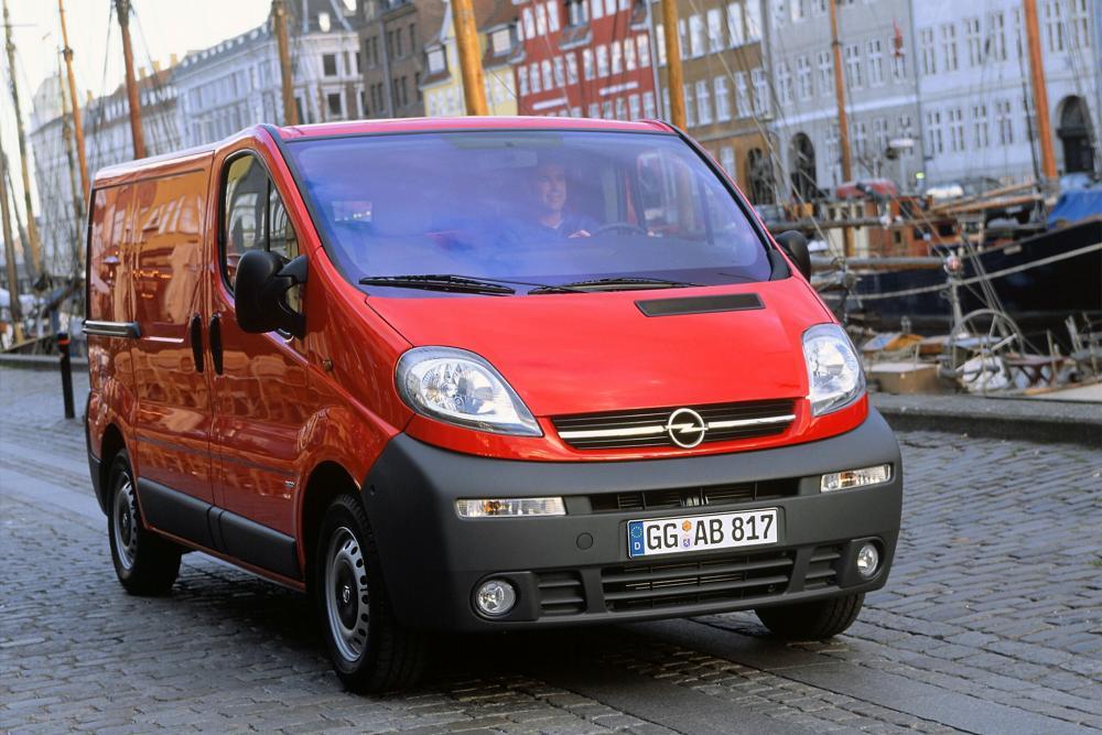 Opel Vivaro 1 поколение A (2002-2006) Фургон