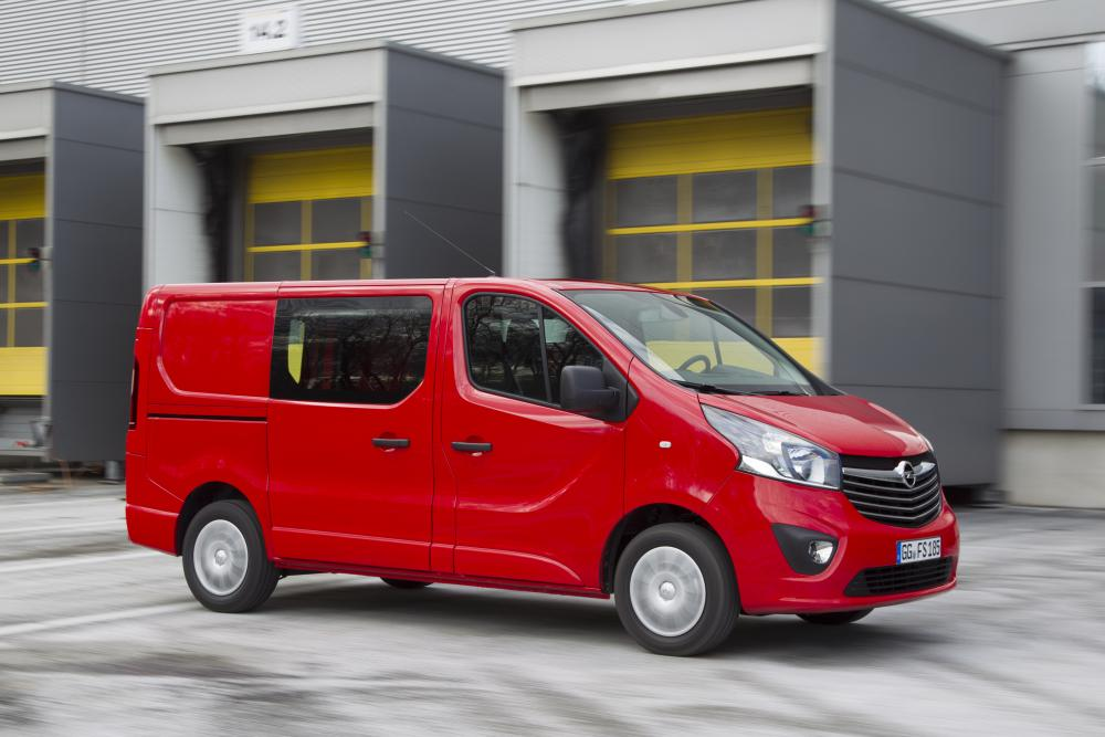 Opel Vivaro B (2014-2019) Double минивэн