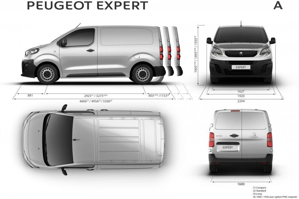 Peugeot Expert 3 поколение (2016) VU фургон