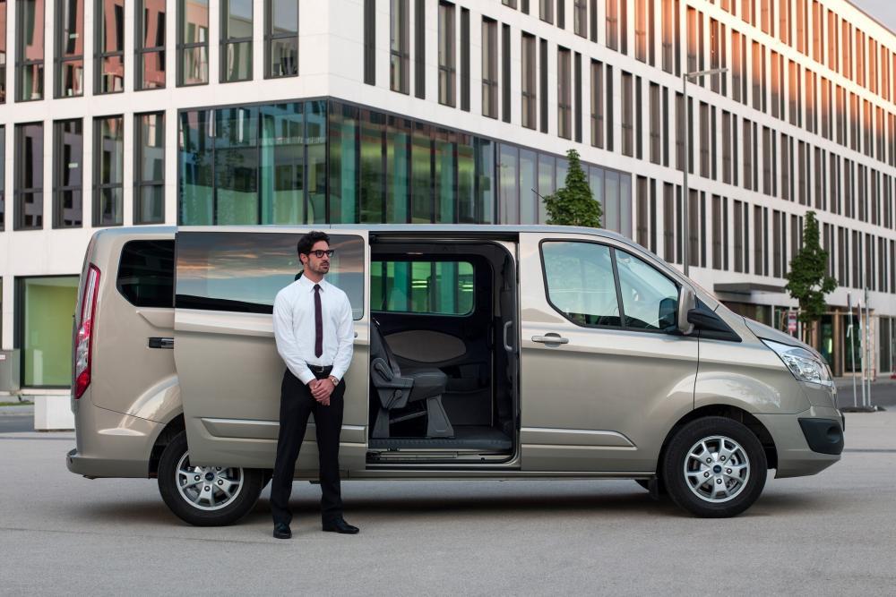 Ford Tourneo Custom 1 поколение Минивэн LWB