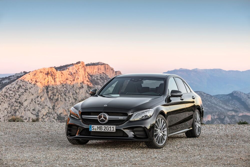 Mercedes-Benz C-klasse AMG W205 (2014-2018) Седан
