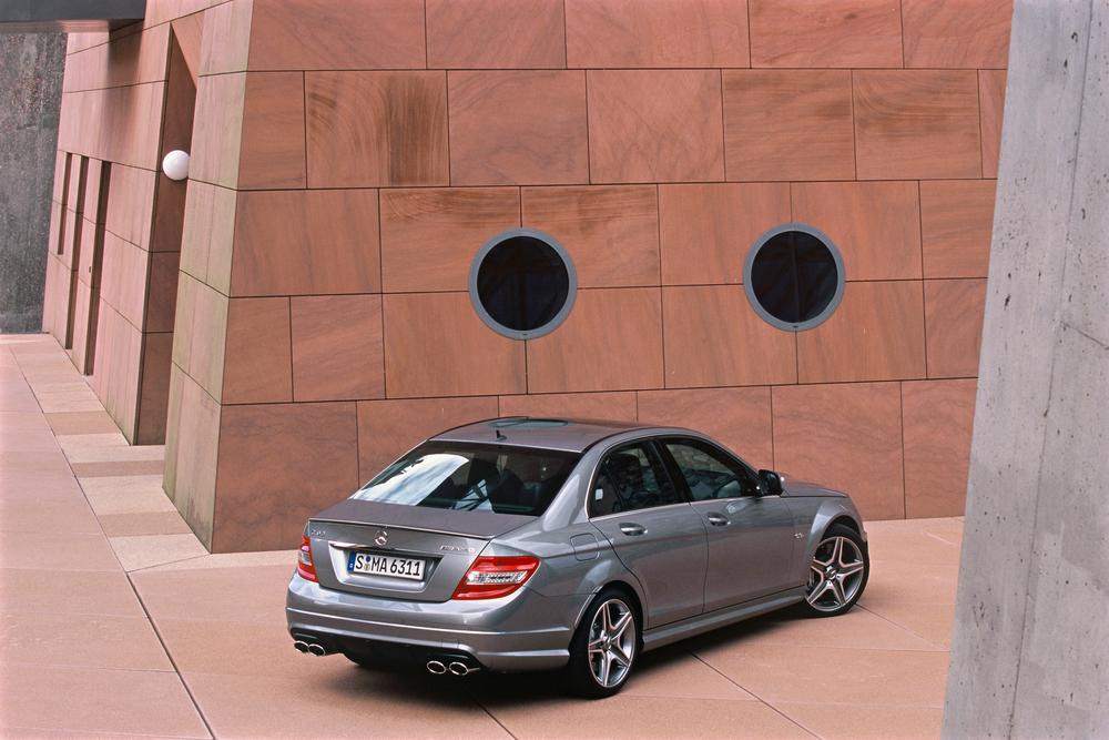 Mercedes-Benz C-klasse AMG W204 (2007-2011) Седан