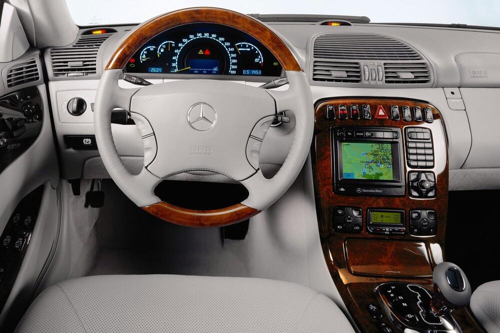 Mercedes-Benz CL-klasse AMG C215 (2000-2002) Купе-хардтоп