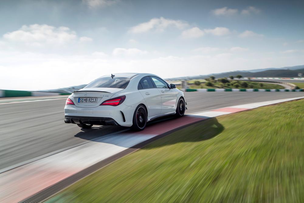 Mercedes-AMG CLA AMG C117 [рестайлинг] (2016) Седан