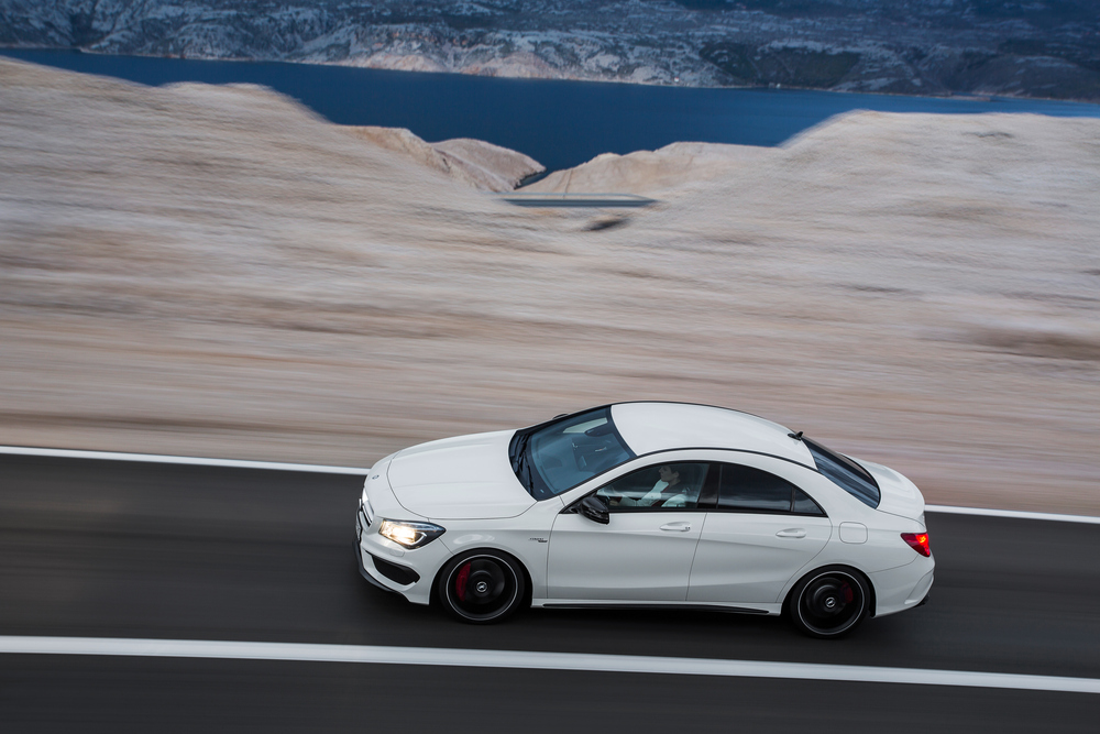 Mercedes-AMG CLA C117 (2013) Седан