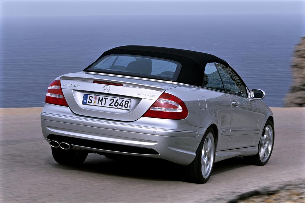 Mercedes-Benz CLK-klasse AMG C209 (2003-2006) Кабриолет