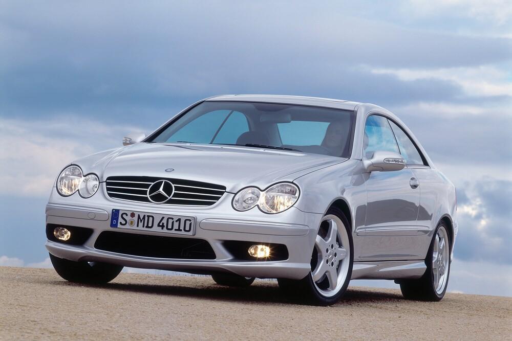 Mercedes-Benz CLK-klasse AMG C209 (2003-2006) Купе