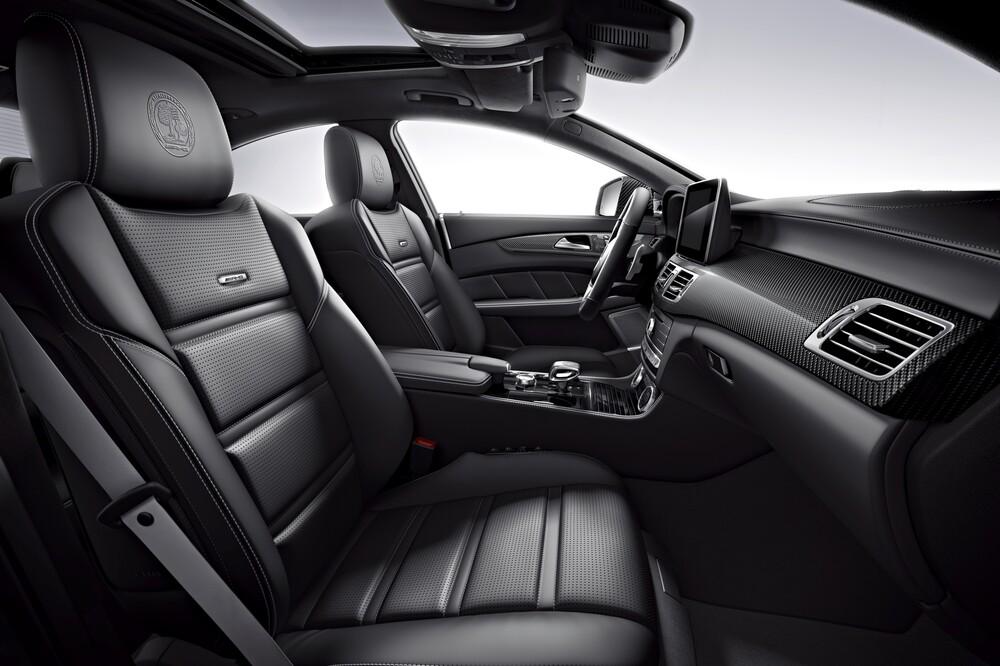 Mercedes-Benz CLS-klasse AMG C218 [рестайлинг] (2014-2018) Седан интерьер