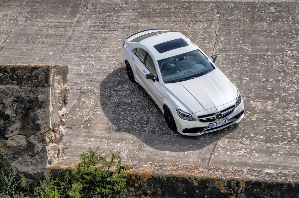 Mercedes-Benz CLS-klasse AMG C218 [рестайлинг] (2014-2018) Седан