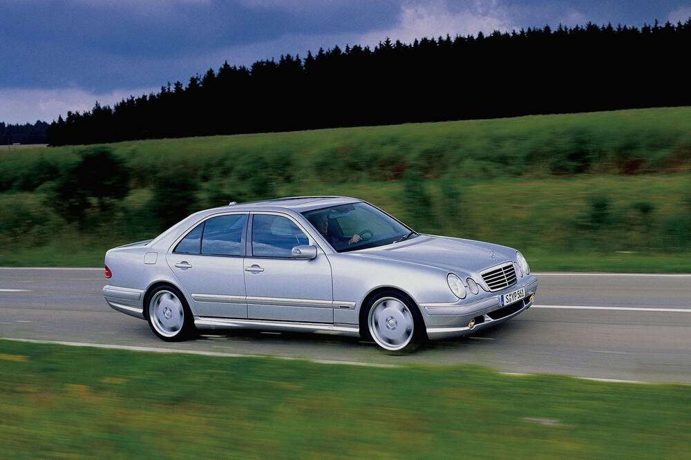 Mercedes-Benz E-klasse AMG W210 [рестайлинг] (1999-2002) Седан