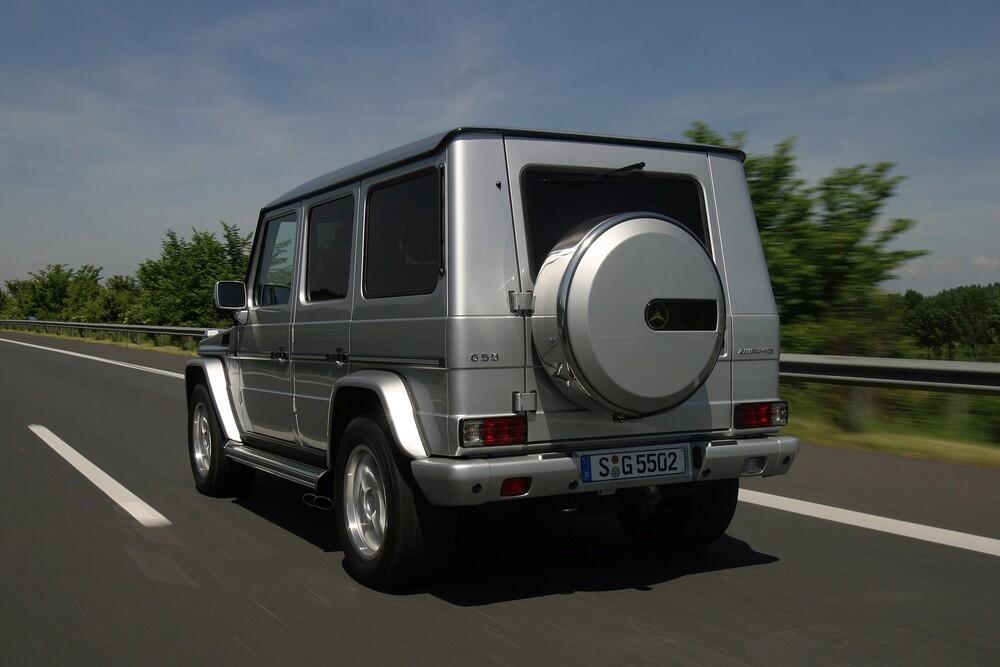 Mercedes-Benz G-klasse AMG W463 (2004-2006) Внедорожник 5-дв.
