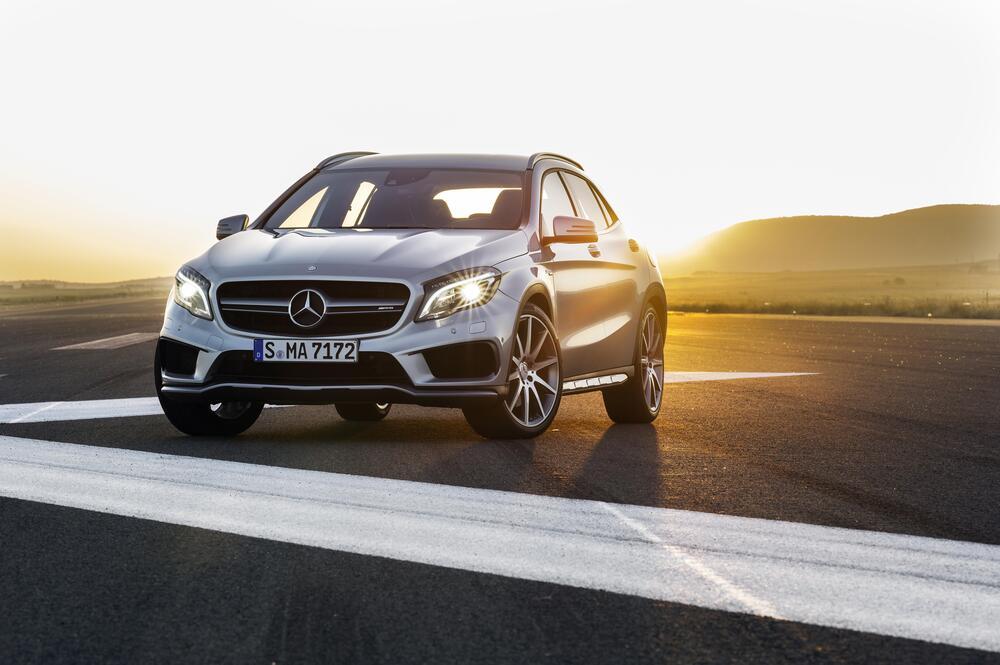 Mercedes-AMG GLA X156 (2014-) Внедорожник 5-дв.