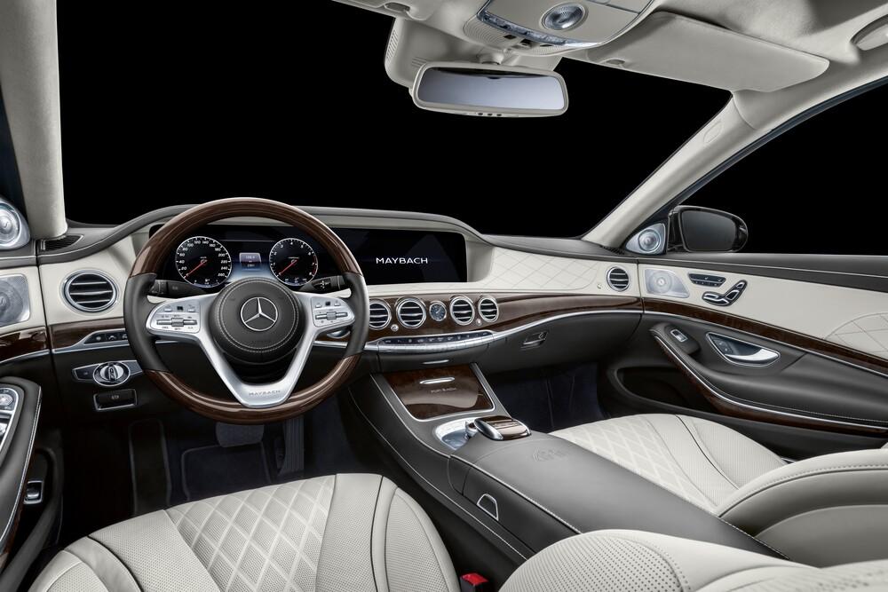 Mercedes-Benz Maybach S-klasse X222 (2016) Лимузин Pullman