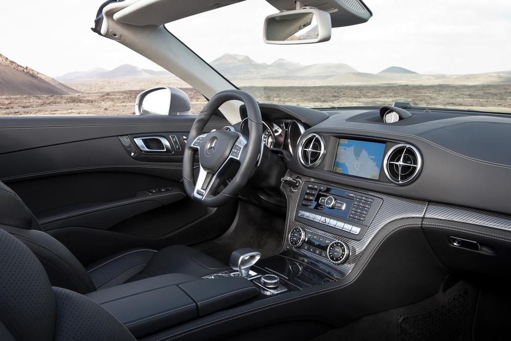 Mercedes-Benz SL-klasse AMG R231 (2012-2015) Родстер AMG интерьер