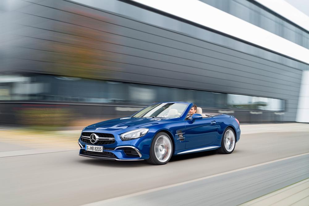 Mercedes-Benz SL-klasse AMG R231 [рестайлинг] (2015-2021) Родстер