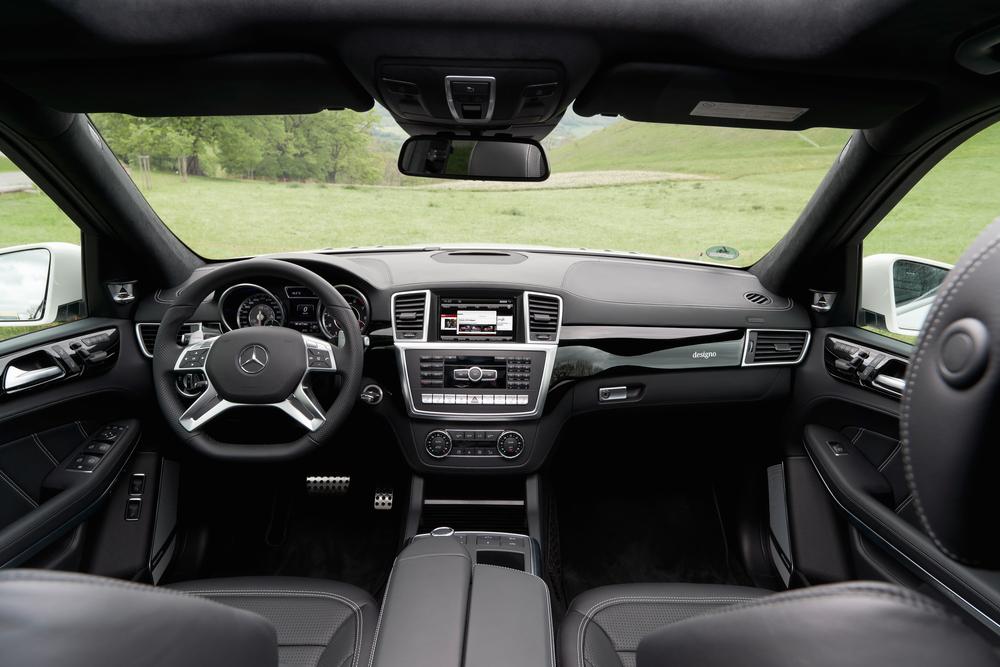 Mercedes-Benz GL-klasse AMG X166 (2012-2016) Внедорожник 5-дв. интерьер