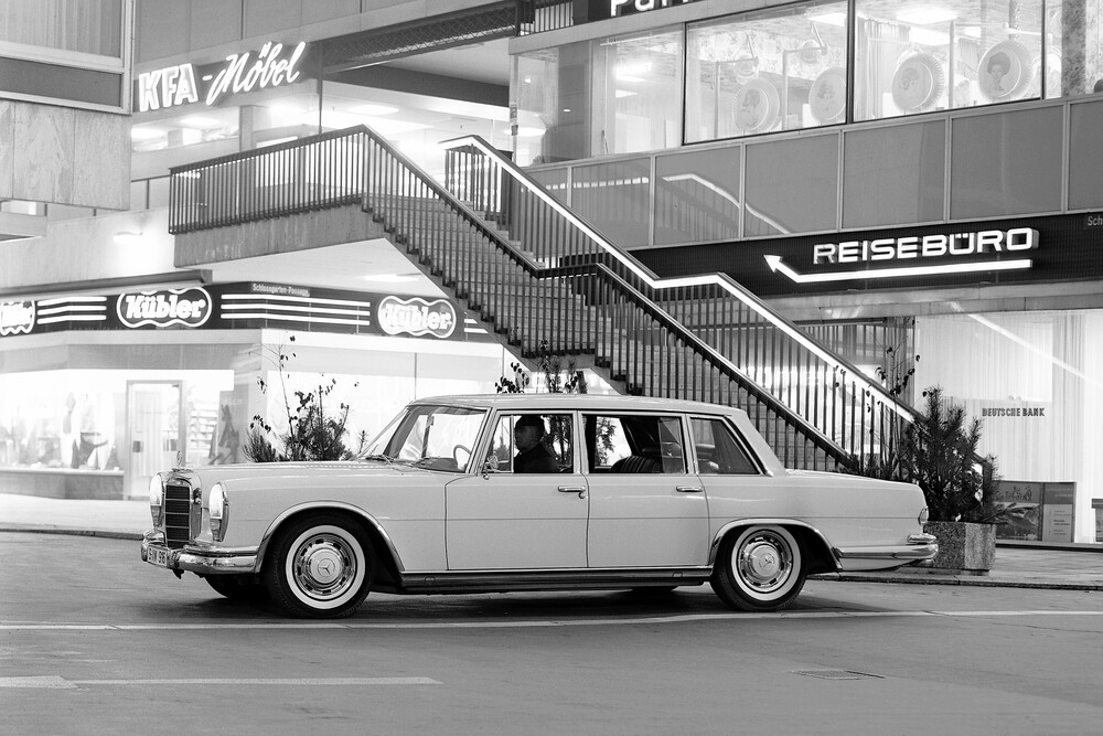Mercedes-Benz W100 1 поколение (1964-1981) Седан