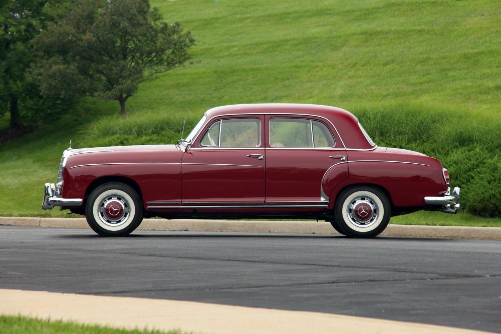 Mercedes-Benz W128 1 поколение (1958-1960) Седан