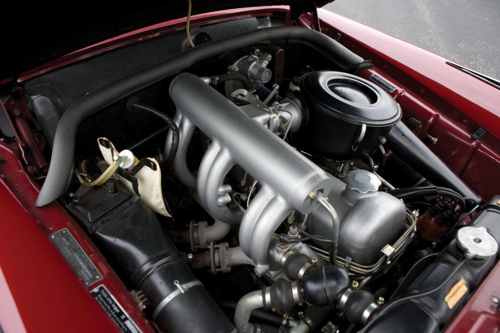 Mercedes-Benz W128 1 поколение (1958-1960) Седан двигатель