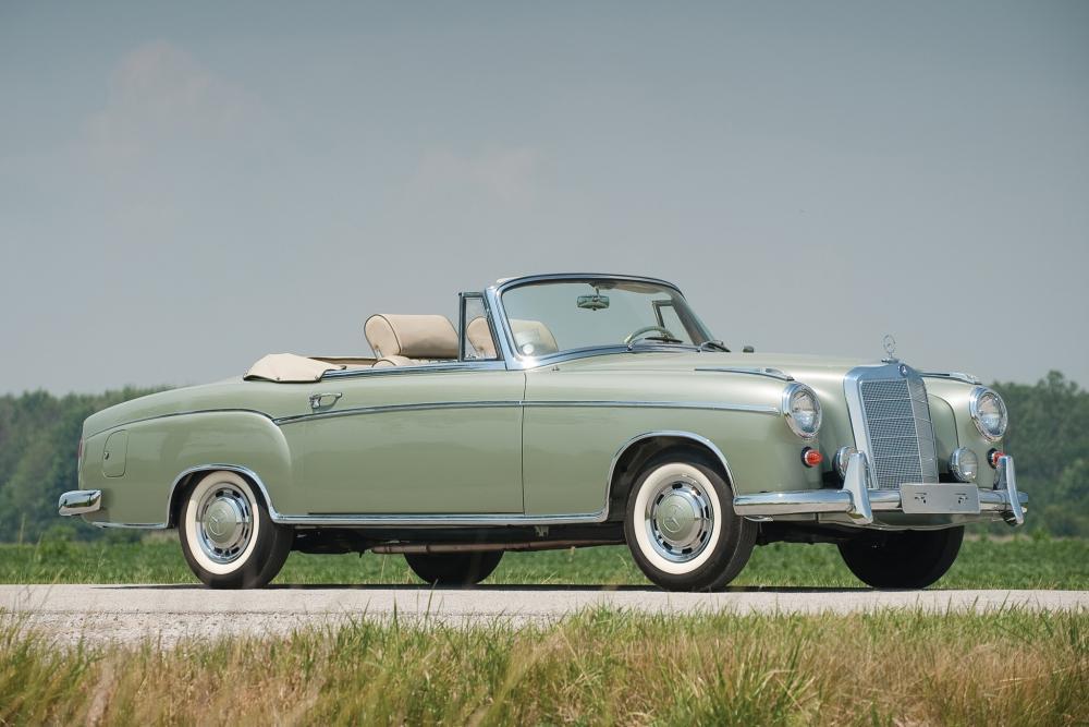 Mercedes-Benz W128 1 поколение (1958-1960) Кабриолет