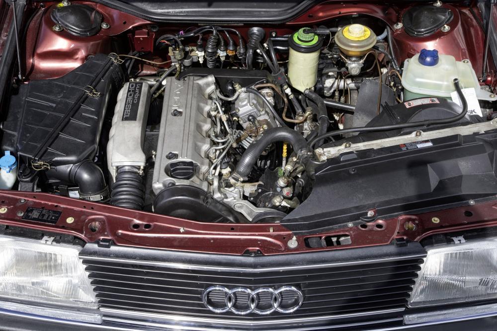 Audi 100 С3 [рестайлинг] (1988-1990) Седан двигатель