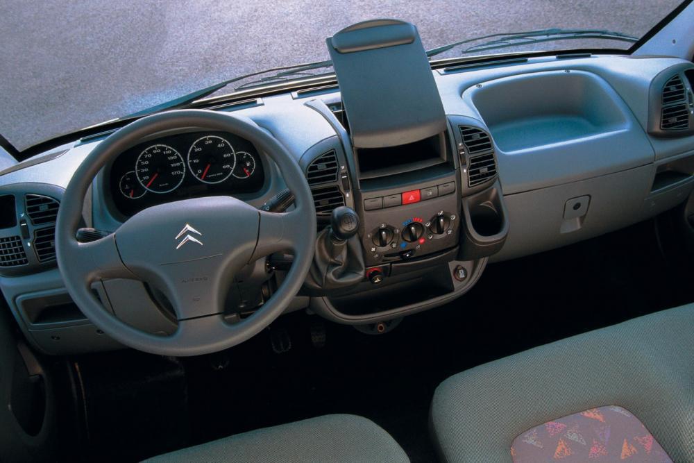 Citroen Jumper 1 поколение Фургон интерьер