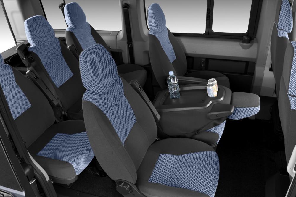 Citroen Jumper 2 поколение Combi микроавтобус 4-дв. интерьер