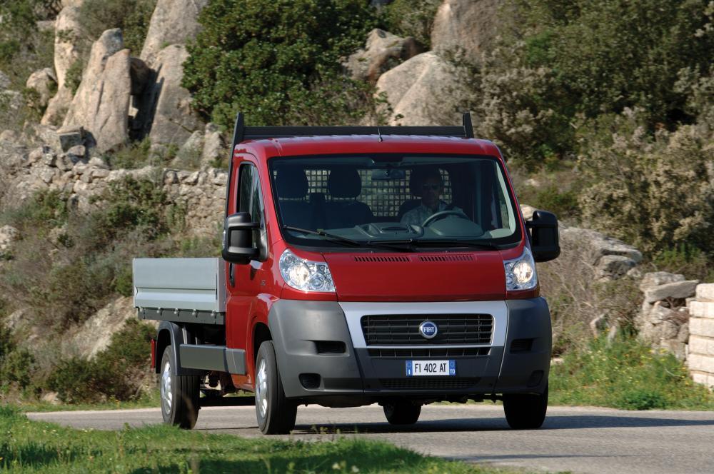 Fiat Ducato 4 поколение Single Cab шасси 2-дв.