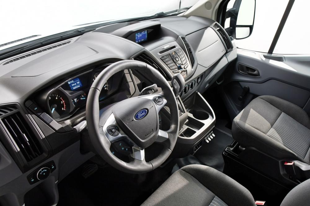 Ford Transit 7 поколение Chassis Cab шасси интерьер